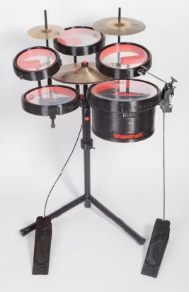 The Wizzdrum kit pedals