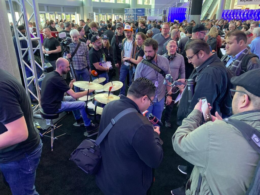 Wizzdrum Press day Namm Show 2020