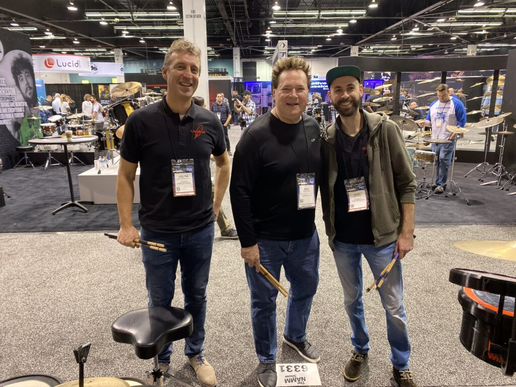 Namm 2020 Wizzdrum Booth